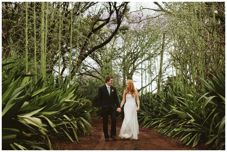 Kenyan jungle wedding